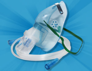 Oxygen Mask with Nebulizer / Adult